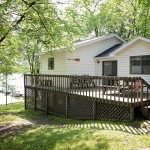 riverside resort rental on lake