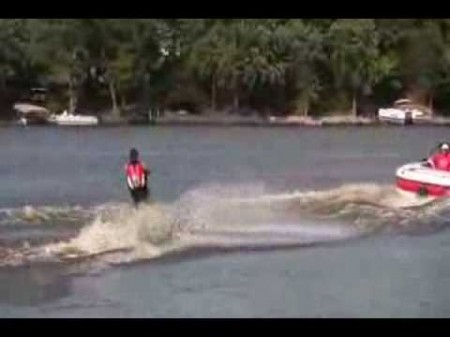 waterskiiing video