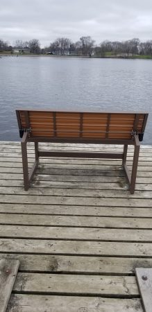Bench on Main Dock 2019