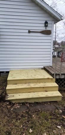 Stairs for Cabin #1